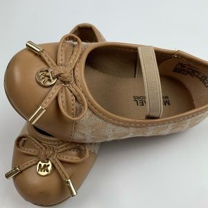 Michael Kors toddler shoes.
